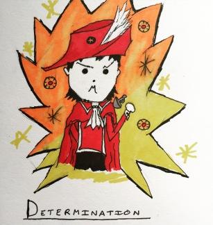 Determination!