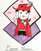 Going to a new event this morning and feeling a bit tired. Anyone else having an anxious morning? #redmagedarni #autism #redmage #anxious